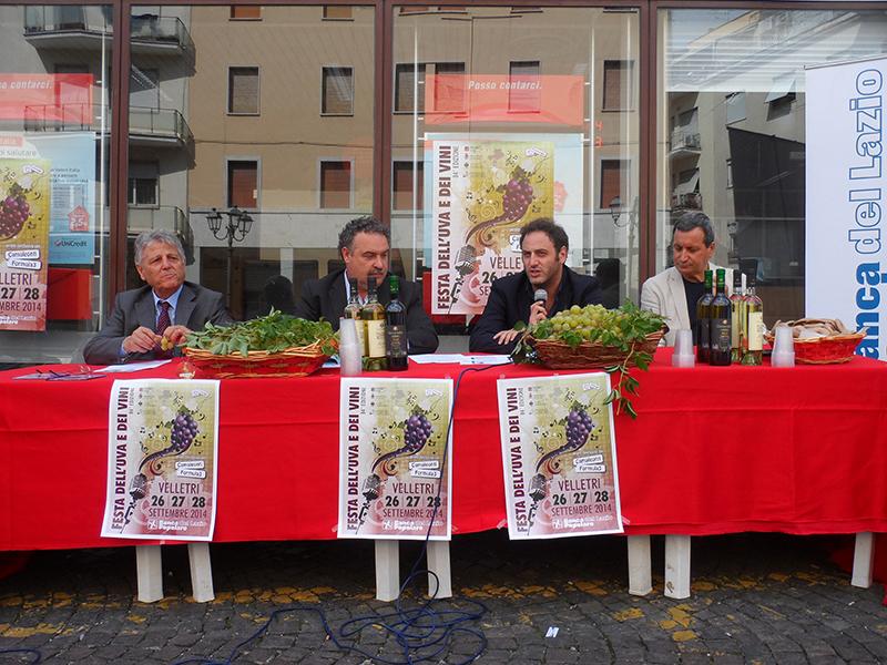 Presentazione Festa dell'uva