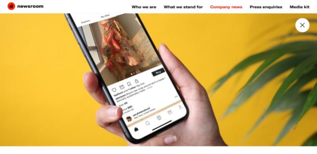 Un'altra startup italiana nel recinto delle società valutate oltre 1 miliardo. Depop è un eCommerce d'abbigliamento acquisito da Etsy per 1,625 miliardi.