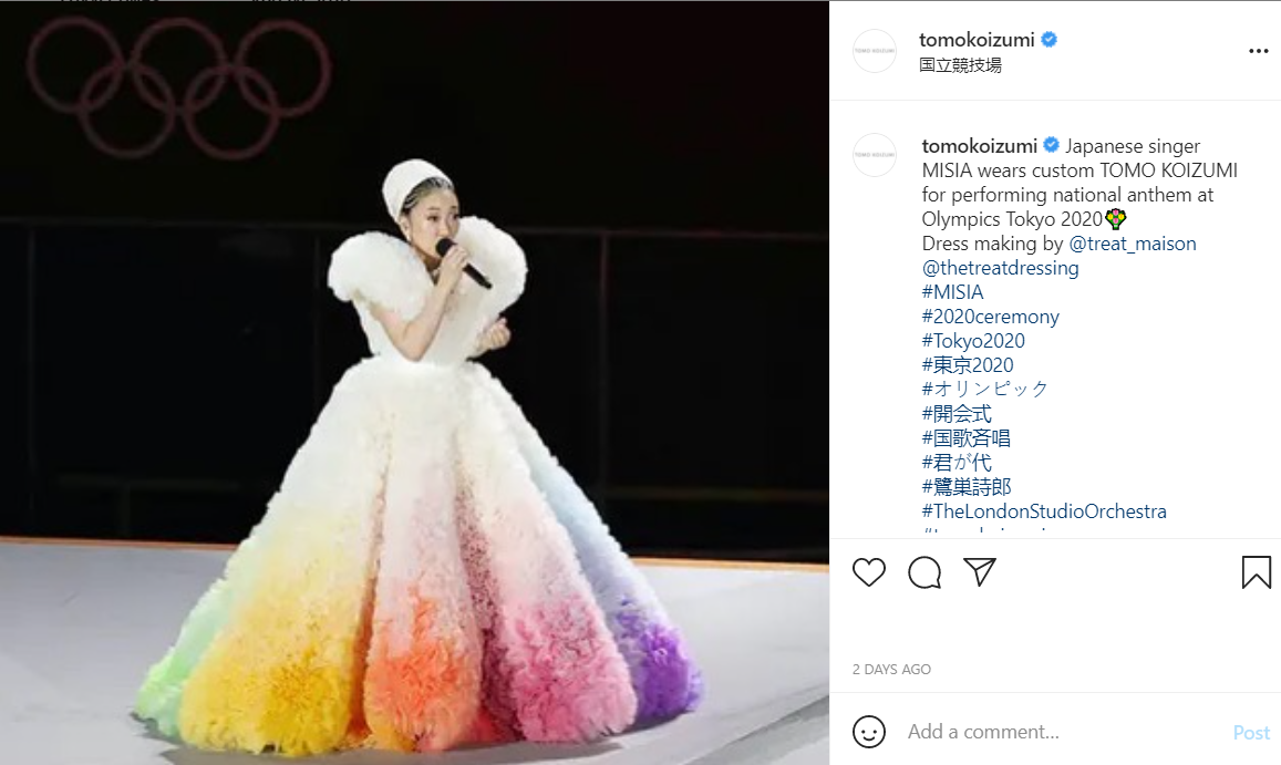 Alle Olimpiadi il fashion diventa parte integrante e fondamentale del patrimonio culturale e dell'identità nazionale