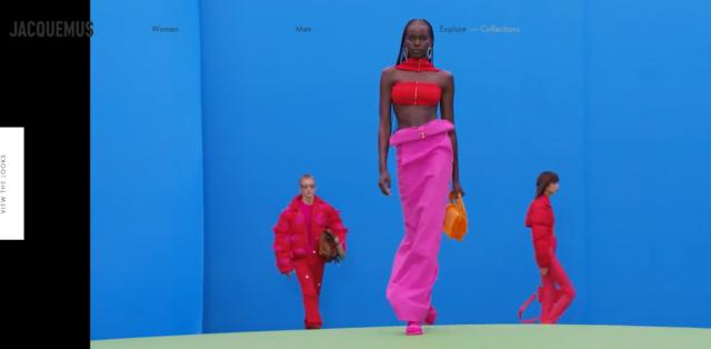 """Jacquemus torna sulla passerella con una collezione che esalta i colori, il concetto dell'unisex e il tema del """"see-now buy-now"""""""