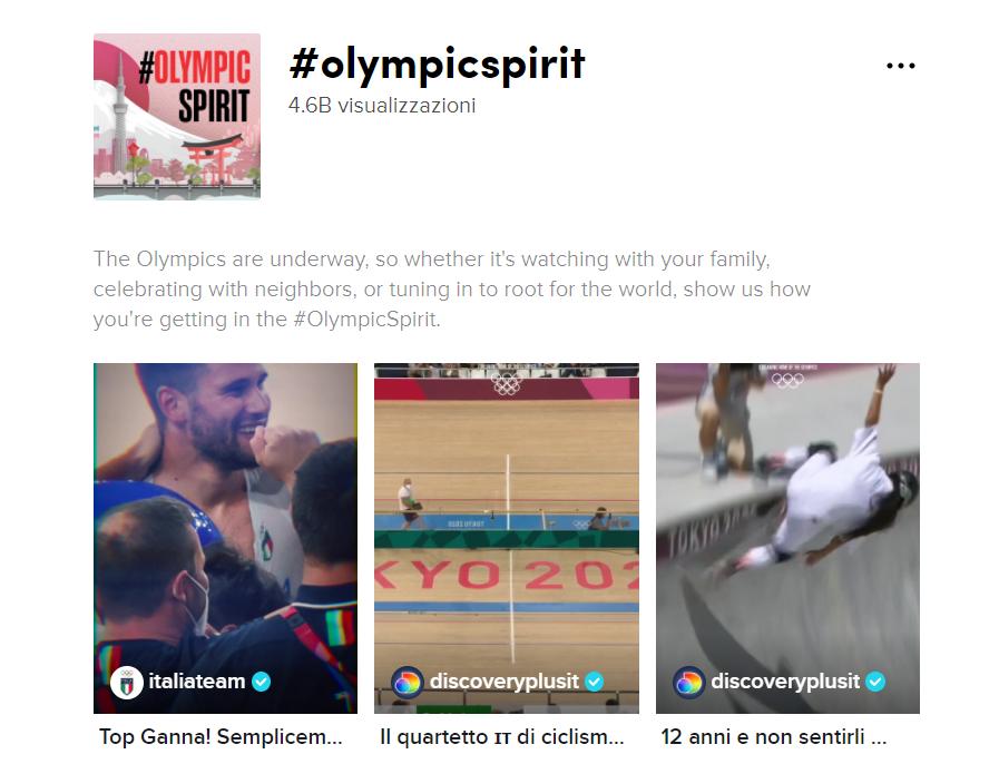 #OlympicTikTok: un canale in cui gli atleti delle Olimpiadi Tokyo 2020 condividono con il resto del mondo i retroscena e la propria vita nel Villaggio Olimpico!